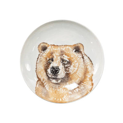 Into the Woods Bear Pasta Bowl by VIETRI