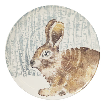 Into The Woods Hare Round Platter by VIETRI