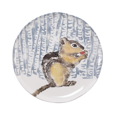 Into the Woods Chipmunk Small Platter by VIETRI