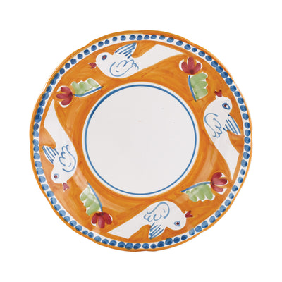 Campagna Uccello Dinner Plate by VIETRI