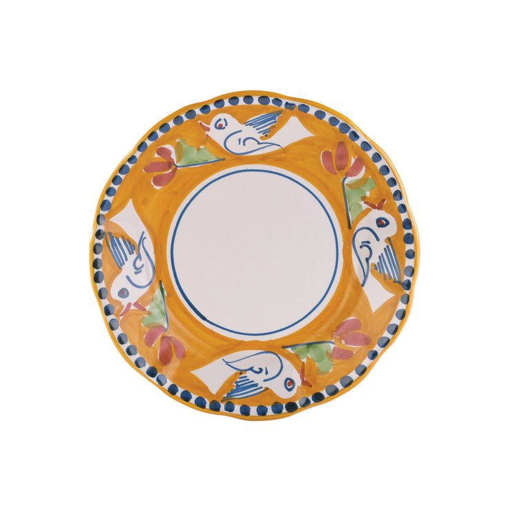 Campagna Uccello Salad Plate by VIETRI