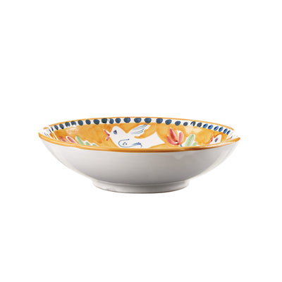 Campagna Uccello Coupe Pasta Bowl by VIETRI