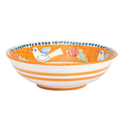 Campagna Uccello Large Serving Bowl by VIETRI