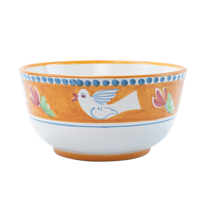 Campagna Uccello Deep Serving Bowl by VIETRI