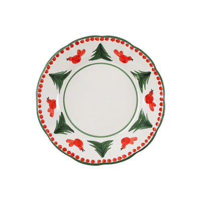 Uccello Rosso Salad Plate by VIETRI