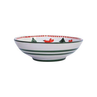 Uccello Rosso Coupe Pasta Bowl by VIETRI