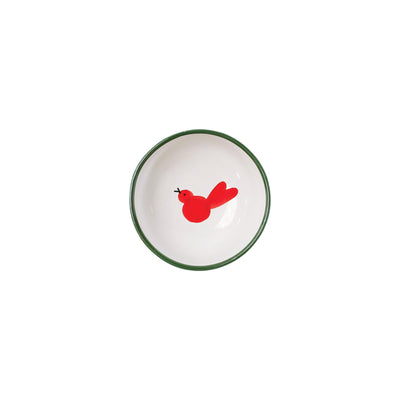 Uccello Rosso Olive Oil Bowl by VIETRI