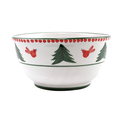 Uccello Rosso Deep Serving Bowl by VIETRI