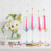 Rainbow Champagne Flute