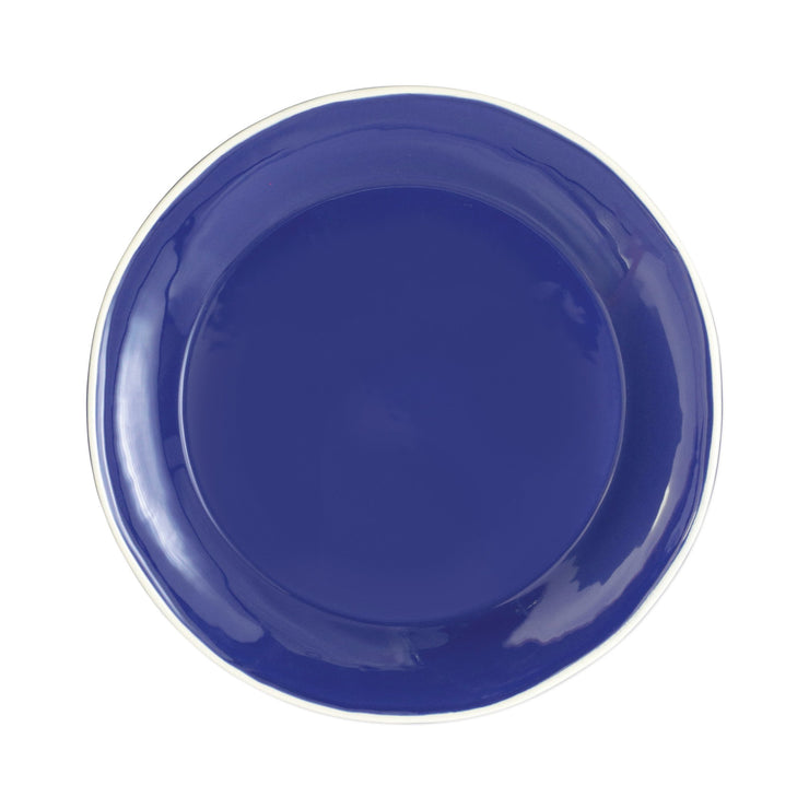 Chroma Blue Dinner Plate by VIETRI