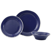 Chroma Blue 3-Piece Place Setting by VIETRI