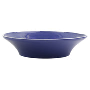 Chroma Blue Shallow Bowl by VIETRI