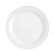 Chroma White Dinner Plate by VIETRI