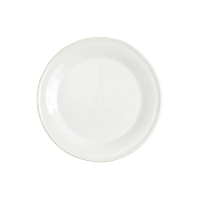 Chroma White Salad Plate by VIETRI