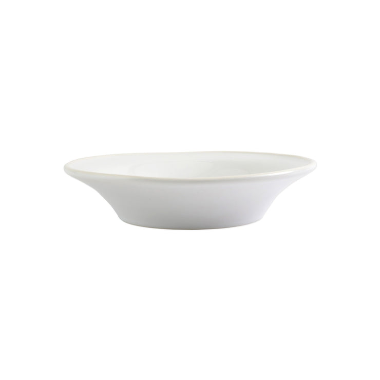 Chroma White Pasta Bowl by VIETRI