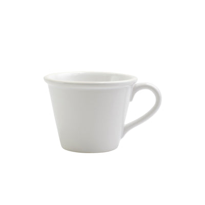 Chroma White Mug by VIETRI