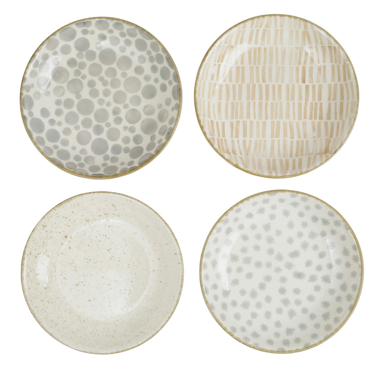 Earth Assorted Pasta Bowls - Set of 4