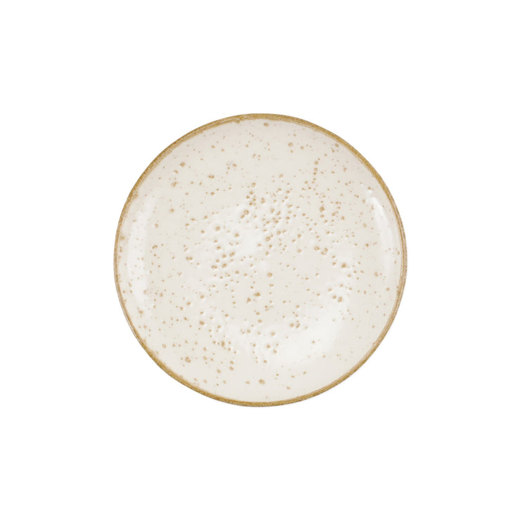 Earth Eggshell Cocktail Plate by VIETRI