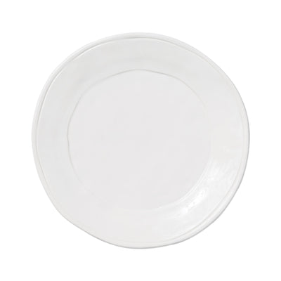 Fresh White Dinner Plate by VIETRI