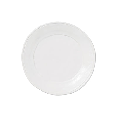 Fresh White Salad Plate by VIETRI