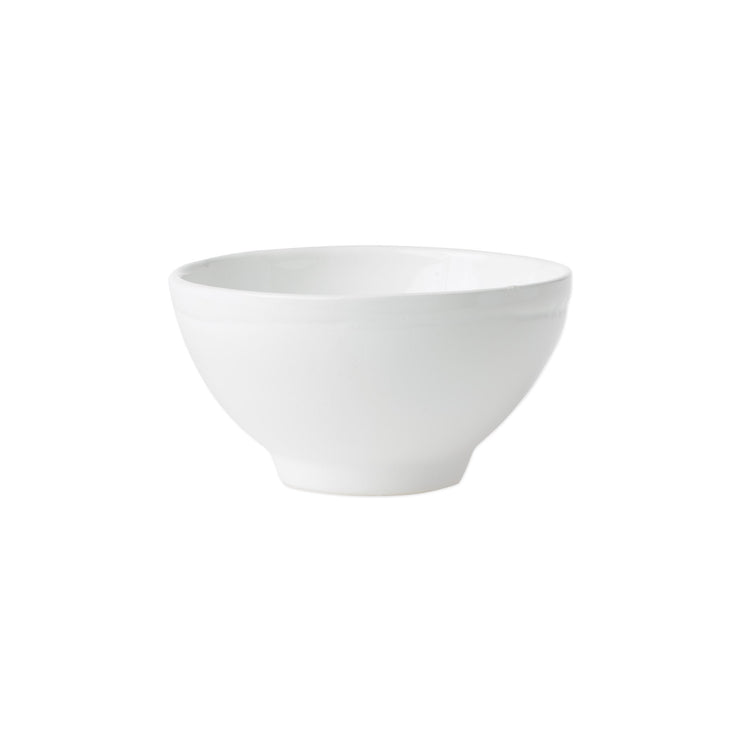 Fresh White Cereal Bowl by VIETRI