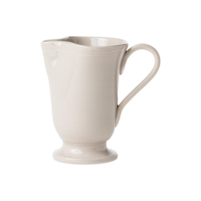 Fresh Natural Large Footed Pitcher by VIETRI