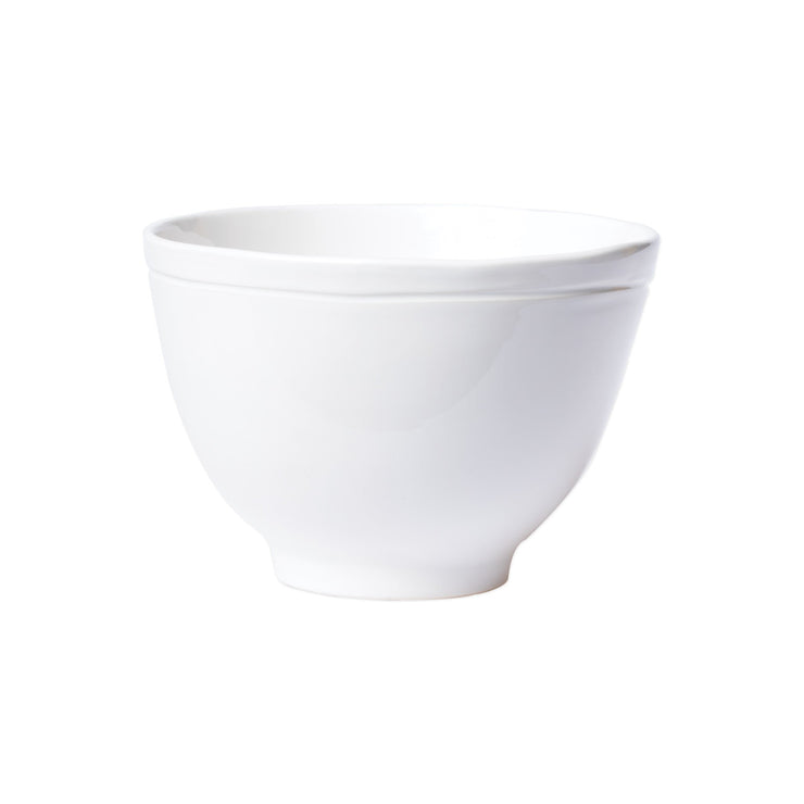 Fresh White Deep Serving Bowl by VIETRI
