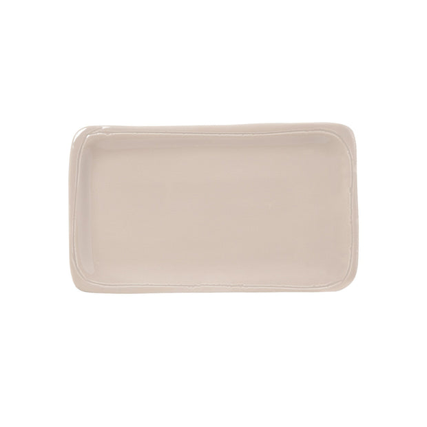 Fresh Natural Small Rectangular Platter by VIETRI