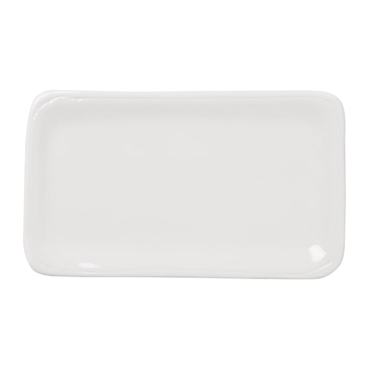 Fresh White Small Rectangular Platter by VIETRI