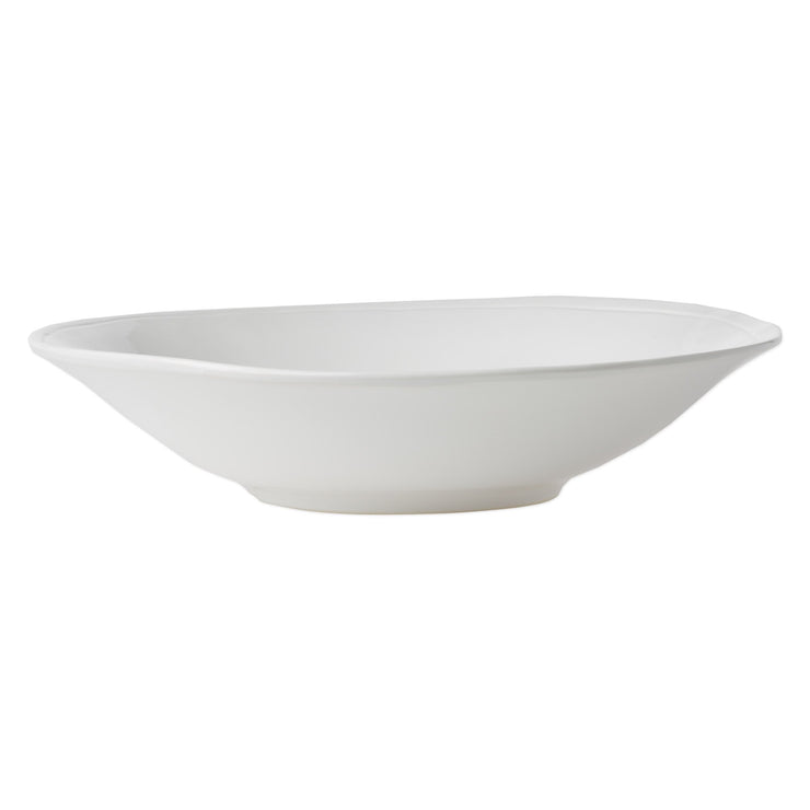Fresh White Large Serving Bowl by VIETRI