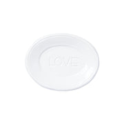Fresh White Small Plate - Love by VIETRI
