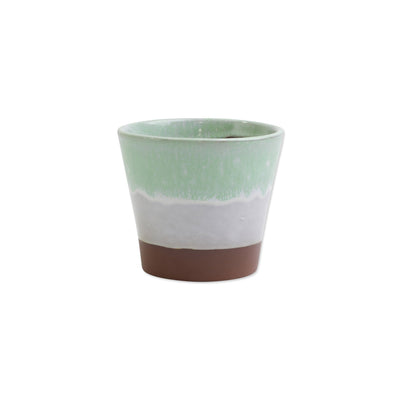 Garden Ombre Mint Green Small Cachepot by VIETRI