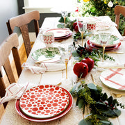 Mistletoe Arrow Salad Plate
