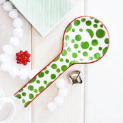 Mistletoe Bubble Spoon Rest