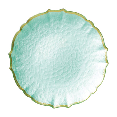 Baroque Glass Service Plate/Charger by VIETRI