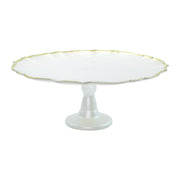 Baroque Glass Cake Stand by VIETRI