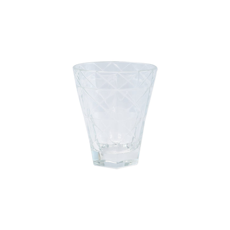 Prism Clear Short Tumbler by VIETRI