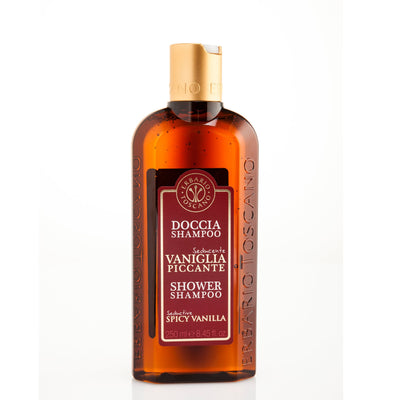 Spicy Vanilla Shower Shampoo 250ml by VIETRI