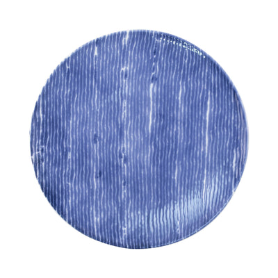 Santorini Stripe Dinner Plate by VIETRI