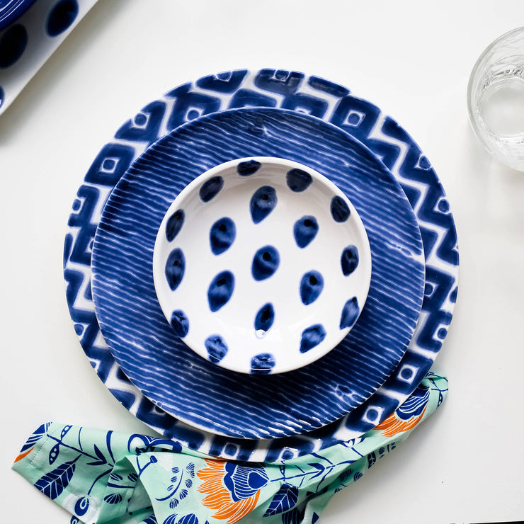 Santorini Dot Condiment Bowl