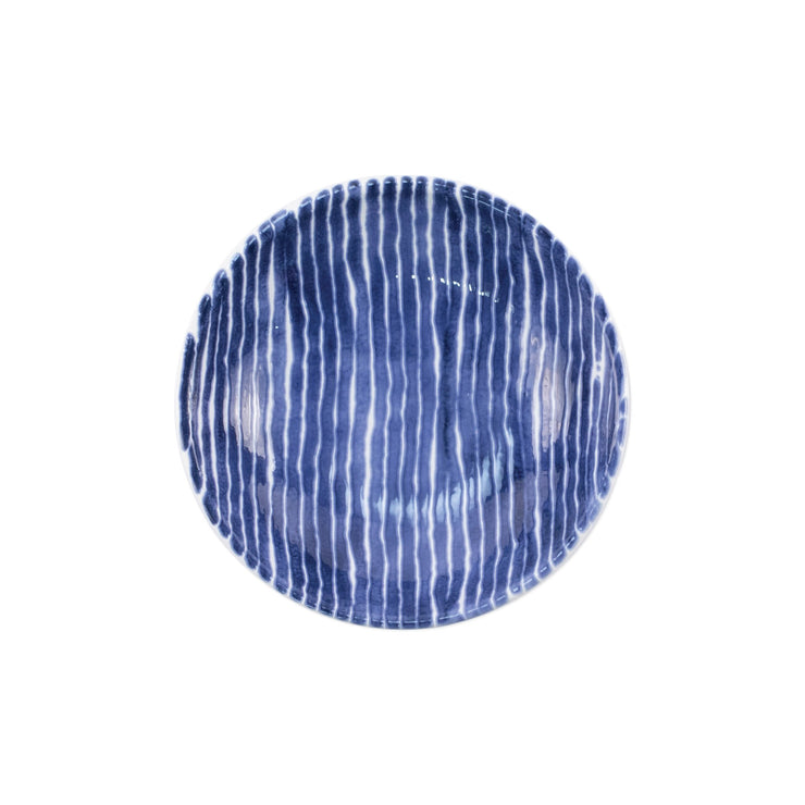 Santorini Stripe Condiment Bowl by VIETRI