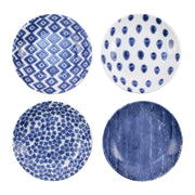 Santorini Assorted Pasta Bowls - Set of 4 by VIETRI