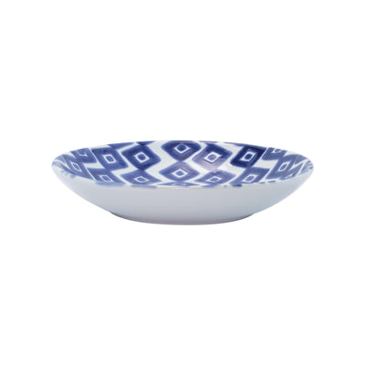 Santorini Diamond Pasta Bowl by VIETRI