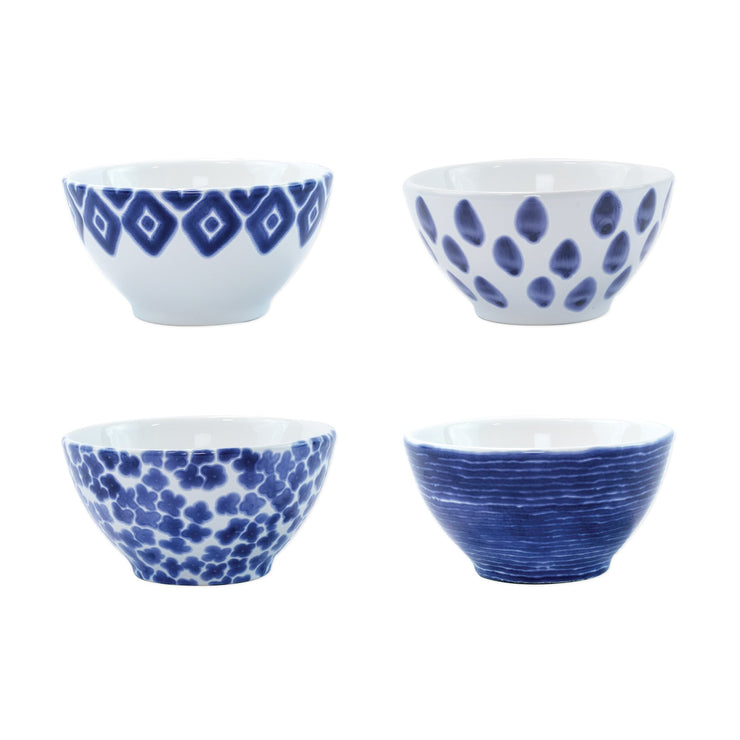 Santorini Assorted Cereal Bowls - Set of 4 by VIETRI