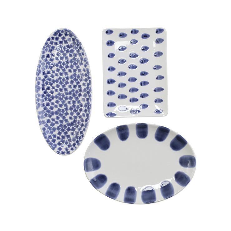 Santorini 3-Piece Serveware Set by VIETRI