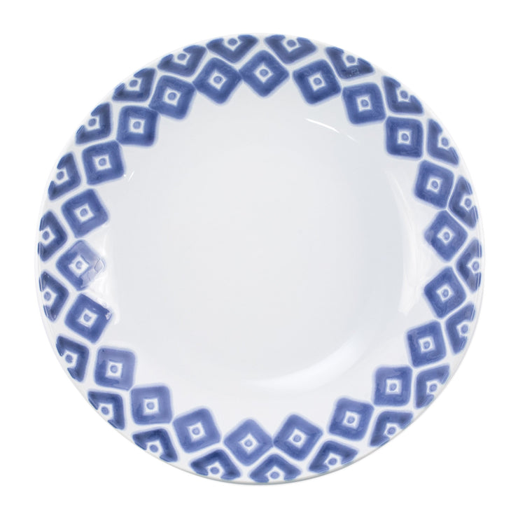 Santorini Diamond Medium Serving Bowl by VIETRI