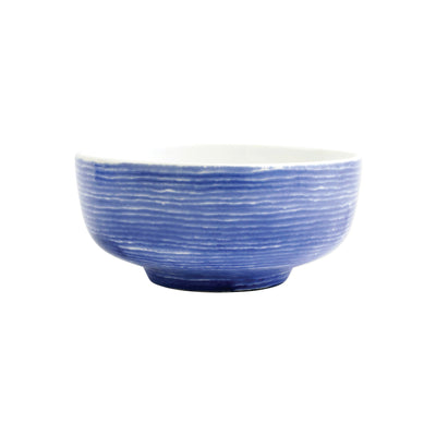 Santorini Stripe Medium Footed Serving Bowl by VIETRI