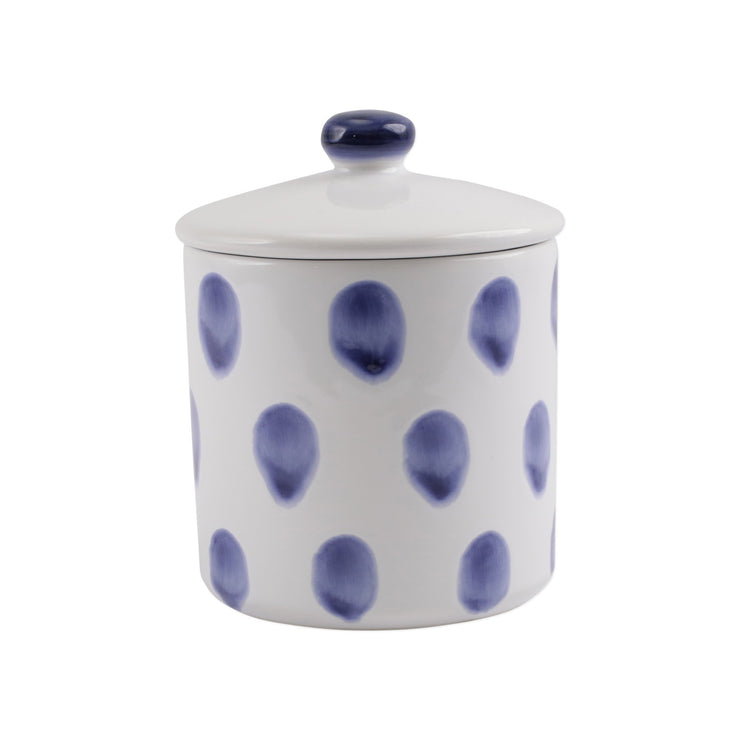 Santorini Dot Small Canister by VIETRI