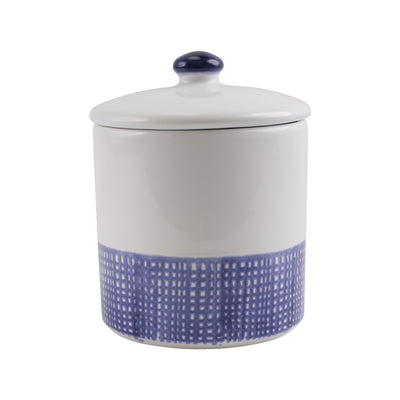 Santorini Geo Medium Canister by VIETRI