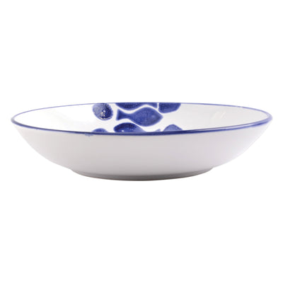 Santorini Fish Medium Serving Bowl by VIETRI